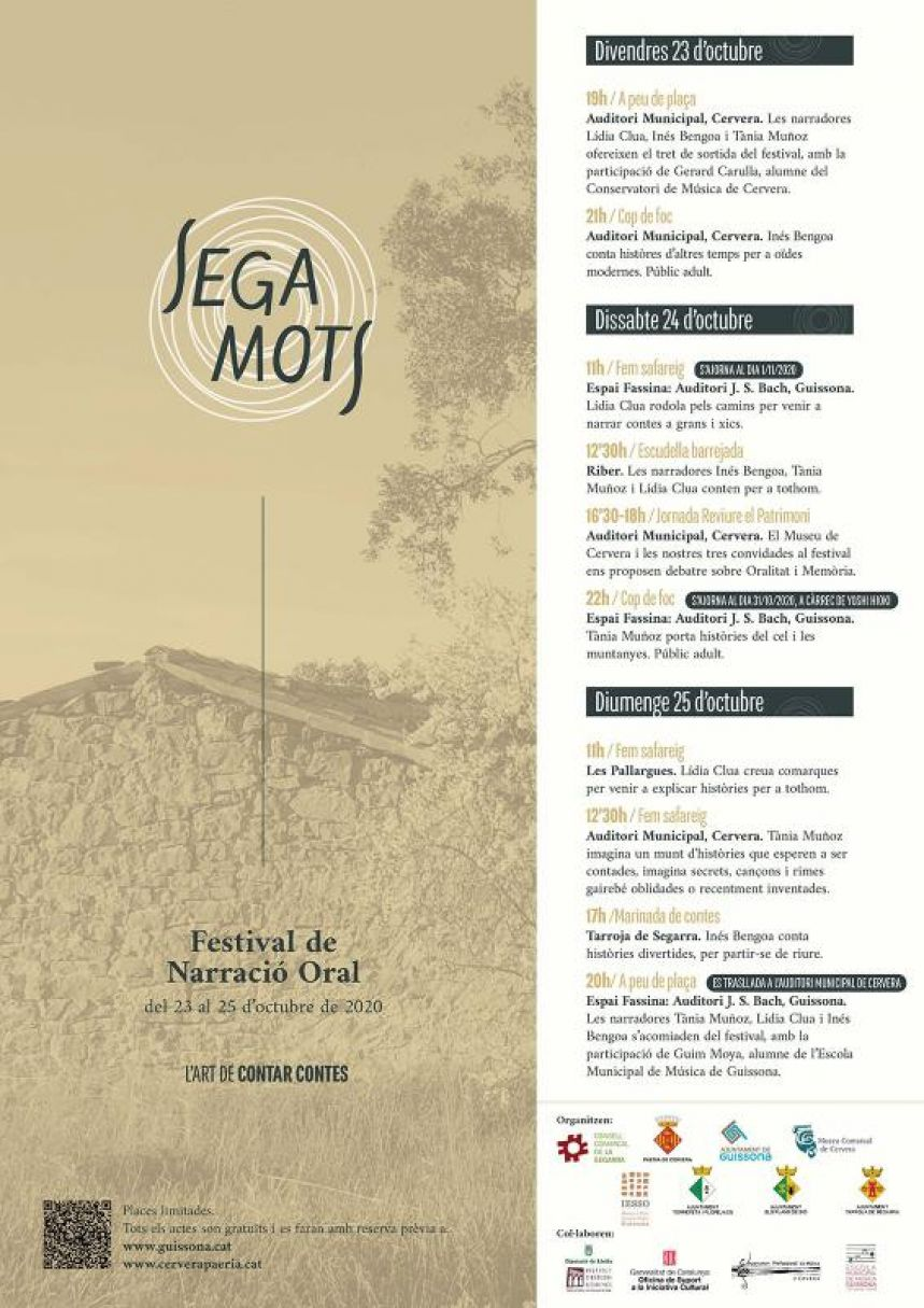 Festival Narracion Oral Segamots 2020