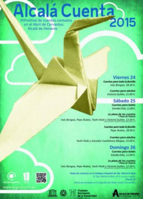Cartel Alcala Cuenta 2015