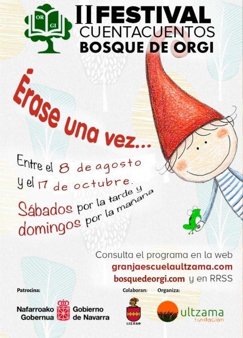 Festival De Cuentacuentos Bosque De Orgi 2020